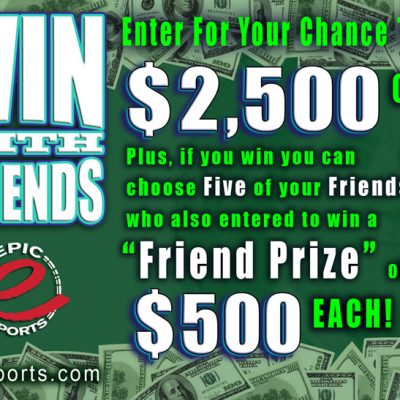 $5000 Epic Sports Giveaway: Win with Friends!