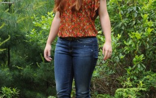 Today's Outfit: Yummie Tummie Slimming Jeans