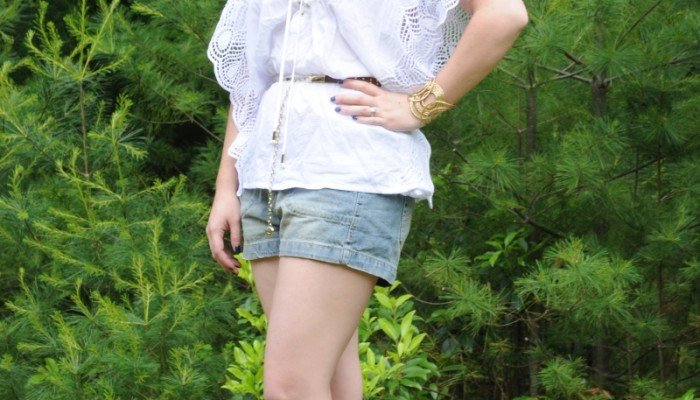 Today's Outfit: Baby Phat White Blouse