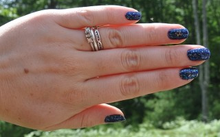opi yoga-ta get this blue nail polish swatch 2