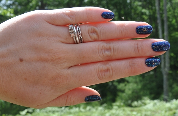 Nails: OPI Yoga-Ta Get This Blue Nail Polish