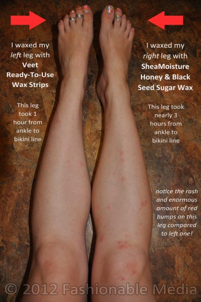 My Epic At-Home Leg Waxing Fiasco