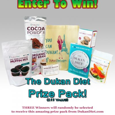 Enter to Win The DUKAN DIET Prize Pack!