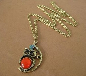 Vintage Style Owl Necklaces Under $5