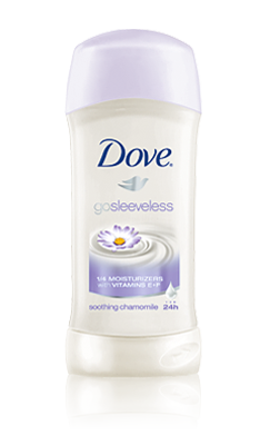 Dove Go Sleeveless Deodorant