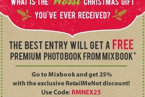 Enter to Win A FREE Mixbook Customizable Photo Book!