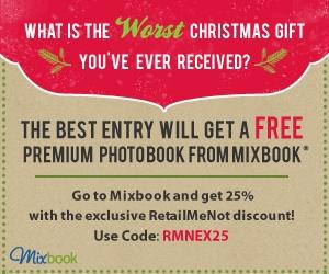 Enter to Win A FREE Mixbook Customizable Photo Book!