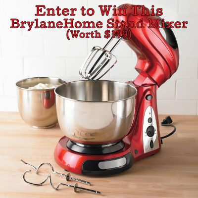 Day 1 – BrylaneHome Stand Mixer ($199)