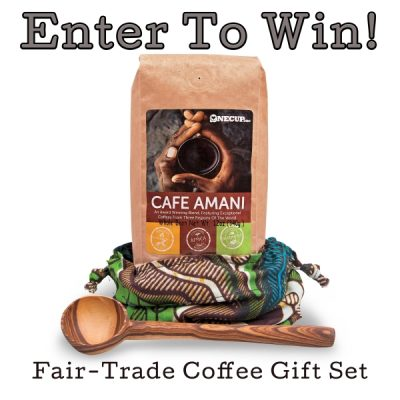 Day 7 – Fair-Trade Coffee Gift Set from WorldVision.org ($50)