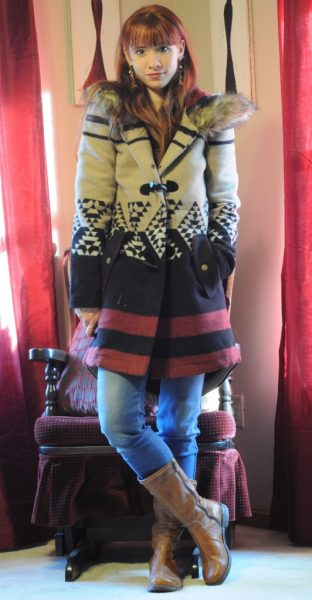 Day 1 of 12 Days of Style –  BB Dakota Coat