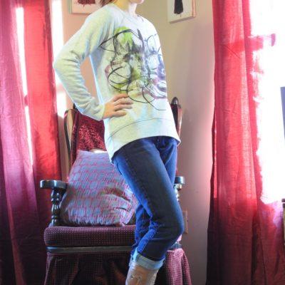 Day 3 of 12 Days of Style – Proenza Schouler Sweatshirt