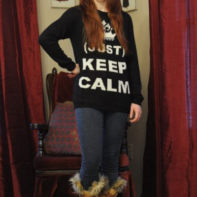 Day 7 of 12 Days of Style – Keep Calm Sweater