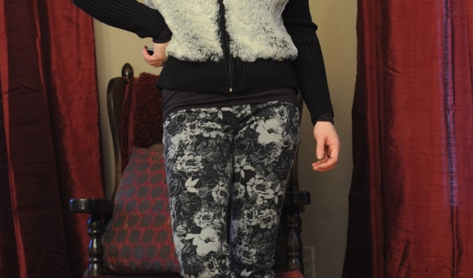 Day 9 of 12 Days of Style – Floral Print Jeans