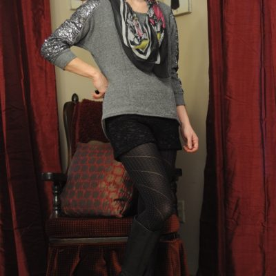 Day 12 of 12 Days of Style – Sequin Sweatshirt