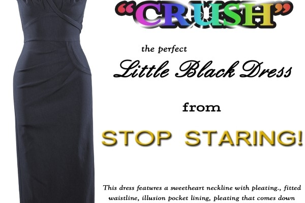 Day 9 – Little Black Dress from Stop Staring! ($150)