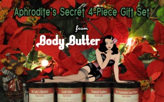 Day 8 – Miss Body Butter Aphrodite's Secret Gift Set ($57)