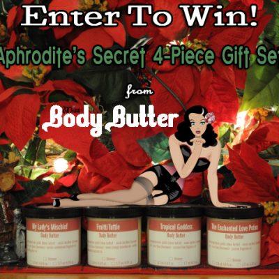 Day 8 – Miss Body Butter Aphrodite's Secret Gift Set ($57)