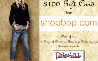 shopbop giveaway christmas