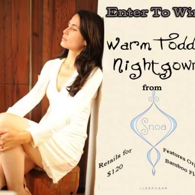 Day 11 – Snoa Sleepwear Bamboo Nightgown ($120)