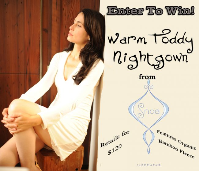 Day 11 – Snoa Sleepwear Bamboo Nightgown ($120)