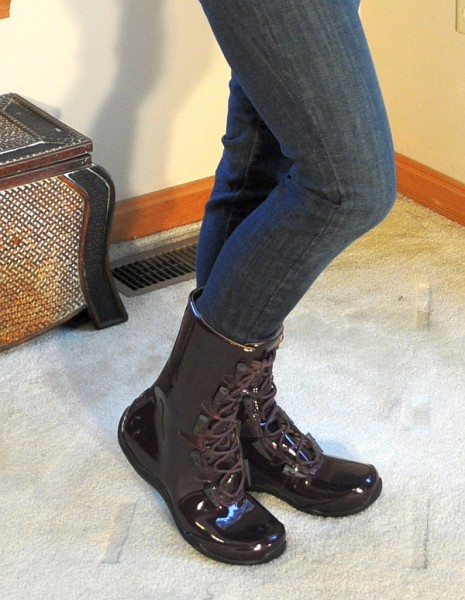 Ahnu Purple Boots