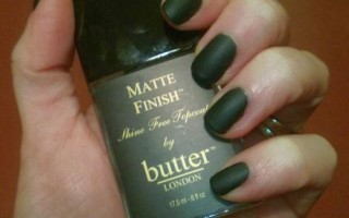 OPI Sephora Dark Room with London Butter Matte