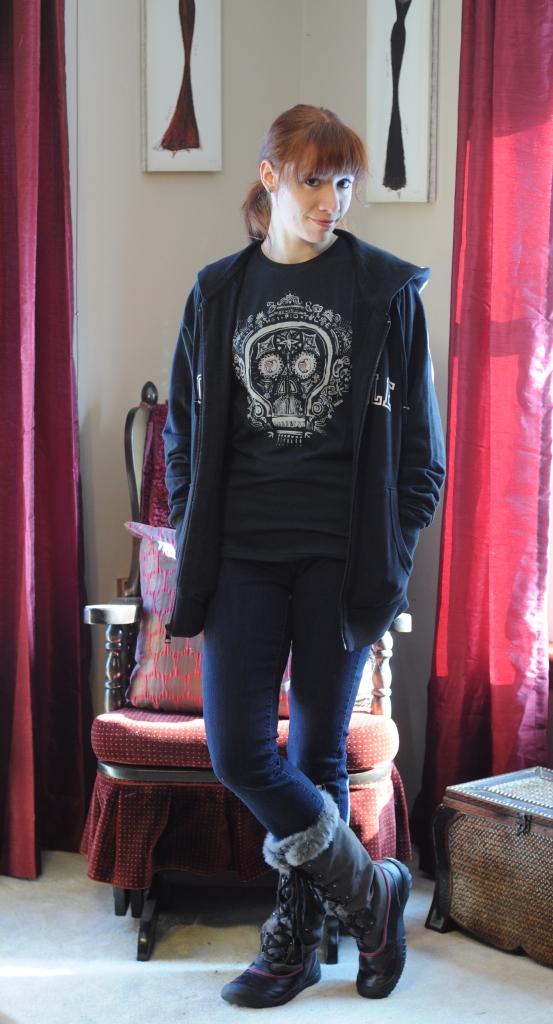 Chipolte Skull Tee & Sweatshirt