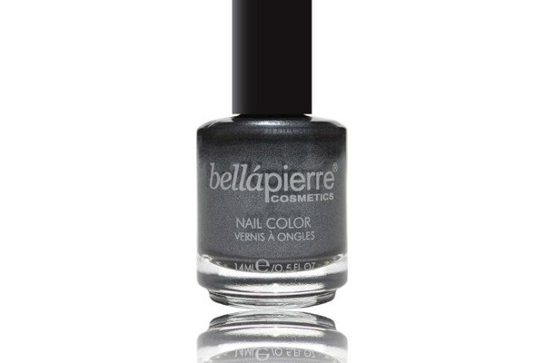Bellapierre Cosmetics Nail Color – Engine Gray