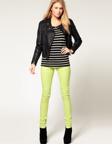 neon jeans asos