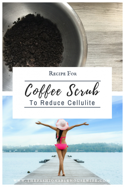 Recipe For Coffee Scrub to Reduce Cellulite