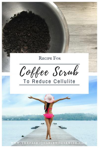 Recipe For Coffee Scrub to Reduce Cellulite