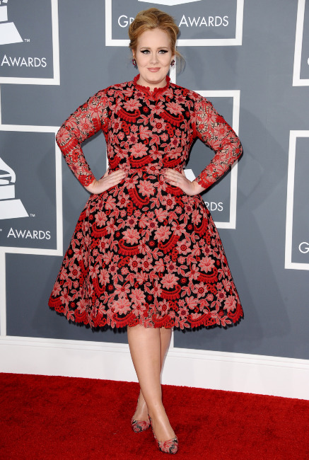 55th Annual GRAMMY Awards - Arrivals - LA
