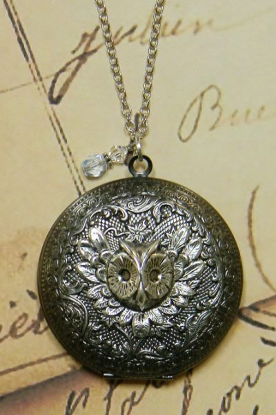 solid perfume locket