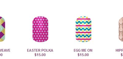 Easter Nails: Pastels, Polka Dots & Flowers