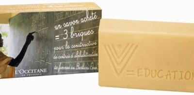 International Women's Day L'Occitane Fair Trade Soap