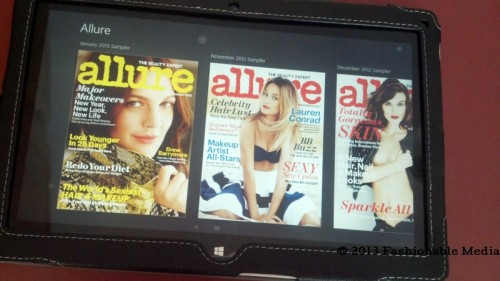 allure magazine windows 8 app