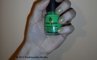 Nail Polish: China Glaze Entourage Neon Green