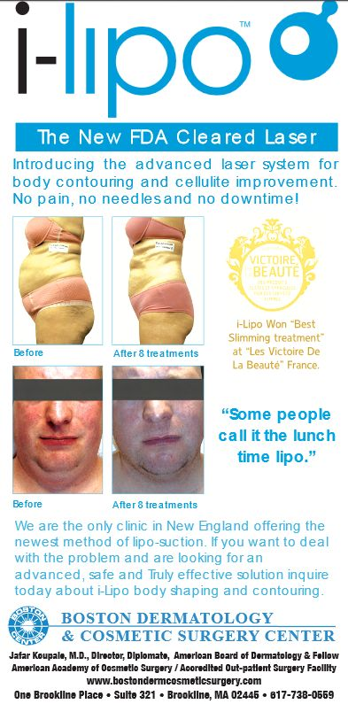 i-lipo treatment ad for boston