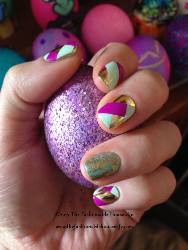 Easter Nails Jamberry Basket Weave Nail Shields The Fashionable