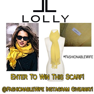 Instagram Giveaway from @FashionableWife and @LollyClothing
