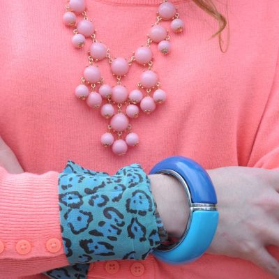 Outfit Ideas: Mint Green and Coral