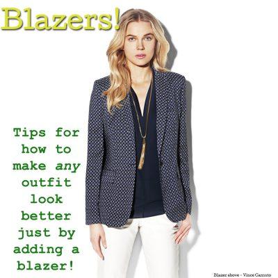 Trend Alert for Spring – Blazers!
