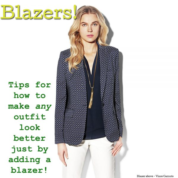 Trend Alert for Spring – Blazers!