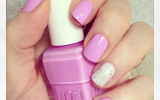 Nails: Duri Cosmetics 'Dream Catcher' Lavender Nail Polish Swatch