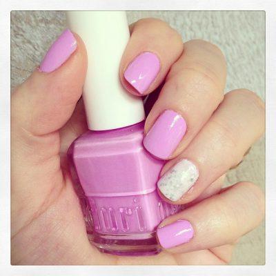 Nails: Duri Cosmetics 'Dream Catcher' Lavender Nail Polish Swatch