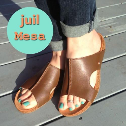 juil mesa leather sandals