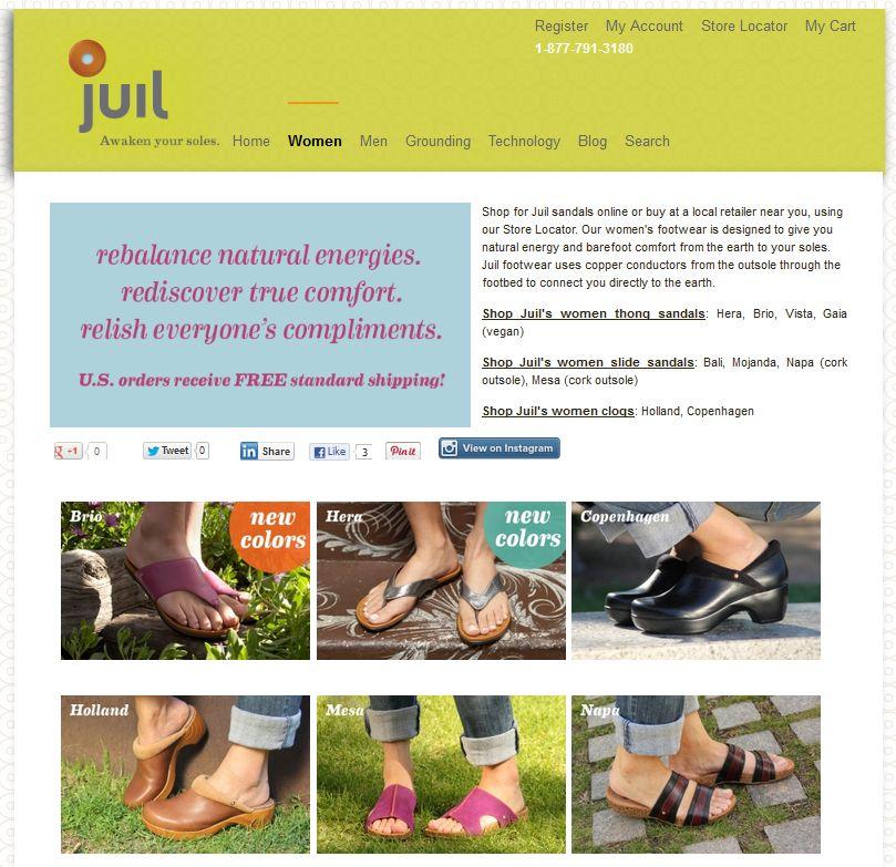 Juil Footwear Promotes Wellbeing