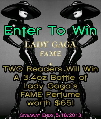 Lady Gaga Perfume Giveaway