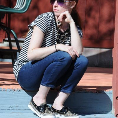 Outfit Ideas: Sperry Leopard Boat Shoes
