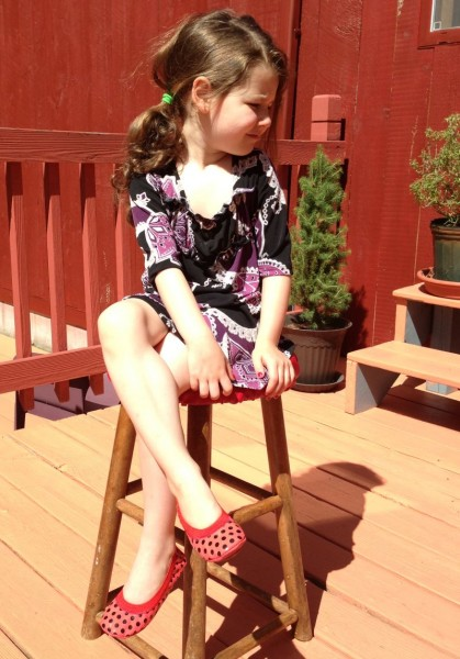 The Fashionable Housewife's daughter